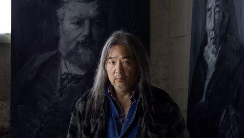 """Yan Pei-Ming : """"Ce qui m'intéresse dans le noir et blanc, ce sont les jeux de lumière"""""""