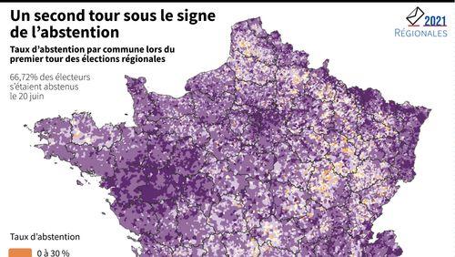 Enjeux des élections régionales et départementales : abstention, prime à la majorité sortante, bascules vers la gauche, la droite et le RN