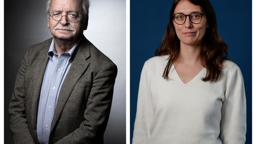 Erik Orsenna // Céline Schmitt