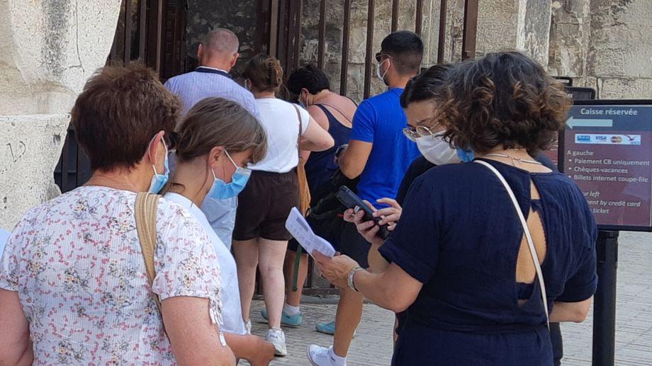 Pass sanitaire obligatoire pour visiter les arènes de Nîmes