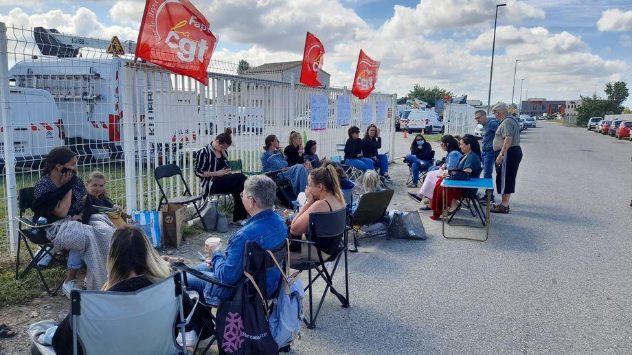 drôme valence grève