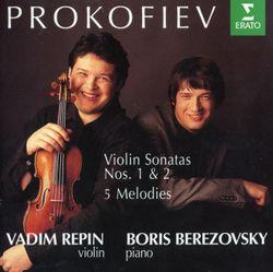 Sonate pour violon et piano n°2 en Ré Maj op 94bis : 2. Scherzo. Presto - VADIM REPIN