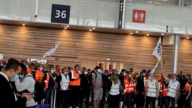 De nouvelles manifestations sont prévues aux aéroports d'Orly et Roissy le 9 et 10 juillet 2021 (illustration)