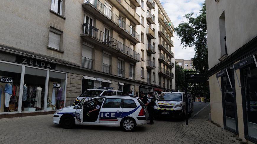 Nantes : expulsion des occupants de la Maison du peuple dans le quartier Graslin