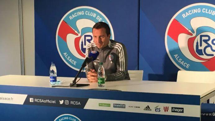 """Ligue 1 - Julien Stéphan (entraîneur du Racing Club de Strasbourg) : """"Il faut faire fructifier l'héritage"""""""