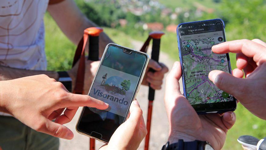 Visorando : l'appli alsacienne pour randonner qui a plus de 2 millions d'utilisateurs réguliers
