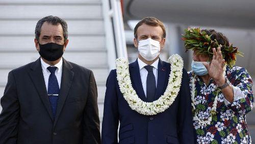 Depuis la Polynésie, Emmanuel Macron appelle à la vaccination
