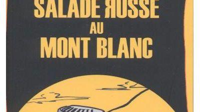 """Cédric Sapin-Defour et Hervé Bodeau ont coécrit """"Salade russe au Mont-Blanc"""" aux éditions Jm"""