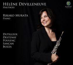 Fantaisie pastorale op 37 : Allegro ma non troppo - pour hautbois et piano - HELENE DEVILLENEUVE