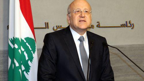 Liban : Najib Mikati chargé de former un nouveau gouvernement
