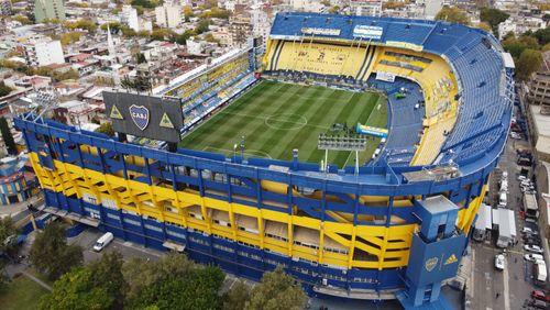 "La Bombonera à Buenos Aires, le stade de ""dieu"""