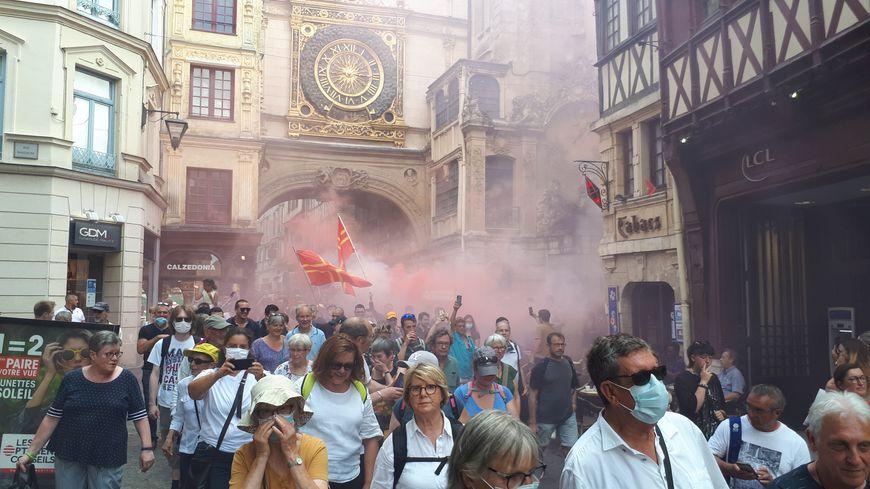Rouen : certains commerçants ne veulent plus des manifestations anti-pass en centre-ville