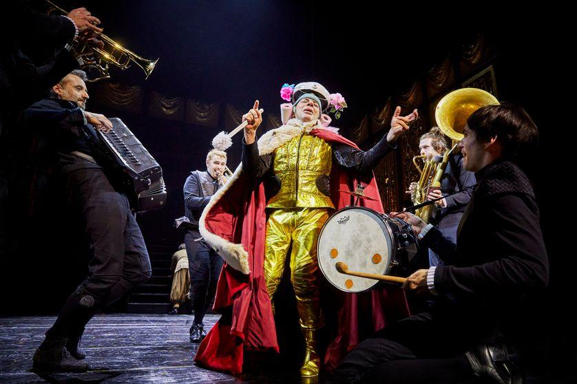 Le bourgeois gentilhomme de Molière, mise en scène de Martin Genest /