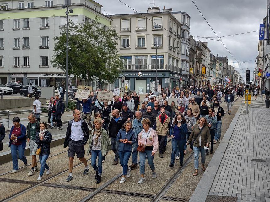Manifestation à Brest le 31 juillet contre le pass sanitaire