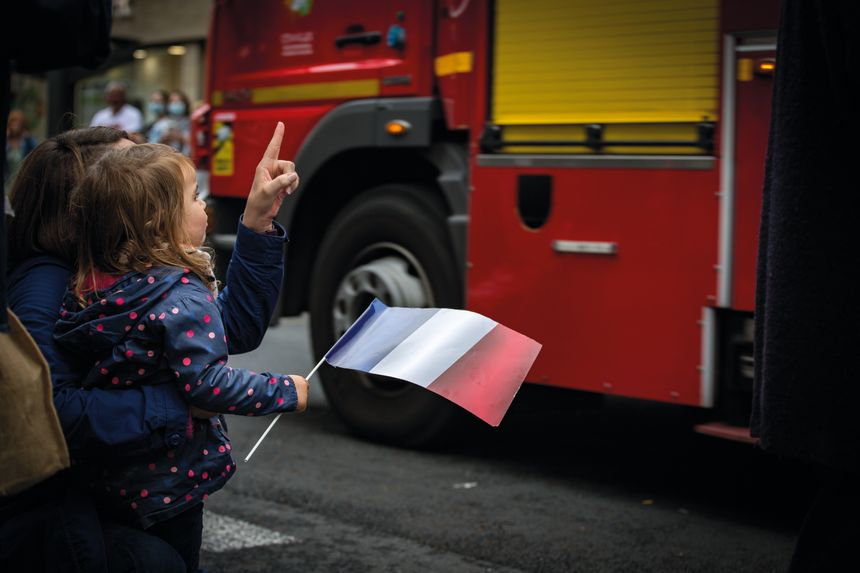 Le traditionnel défilé du 14 juillet s'est déroulé normalement à Brive, petits et grands n'ont pas manqué ce jour de fête nationale.