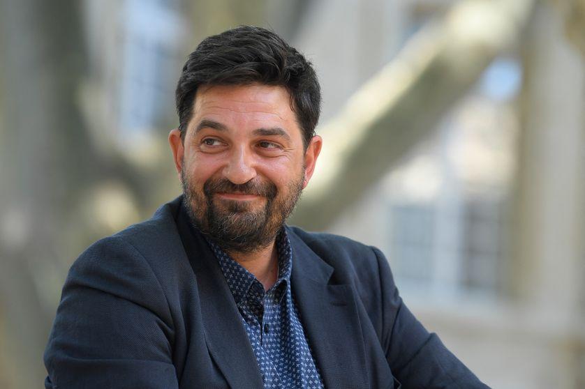 Tiago Rodrigues lors de sa nomination en tant que nouveau directeur du festival d'Avignon, le 5 juillet 2021