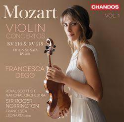 Concerto pour violon n°4 en Ré Maj K 218 : 1. Allegro - FRANCESCA DEGO
