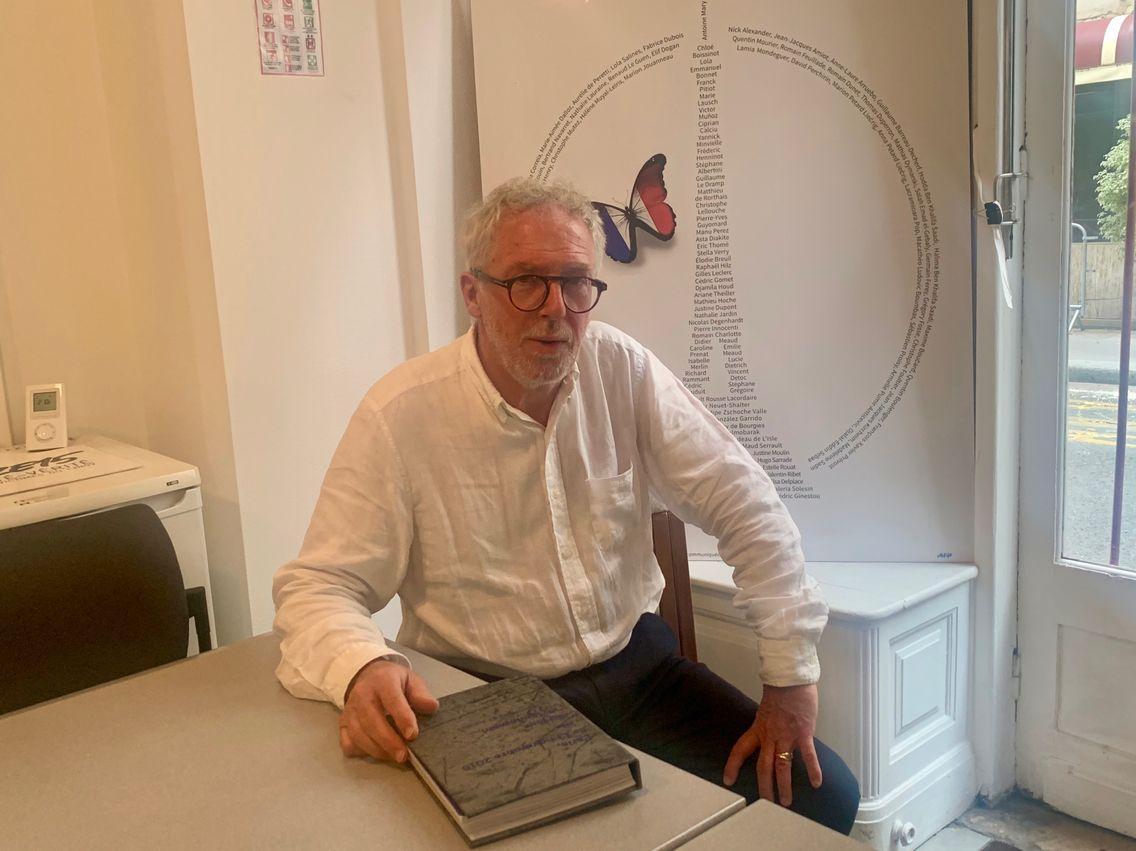 Philippe Duperron, le père inconsolable, devenu président de l'association de victimes 13onze15