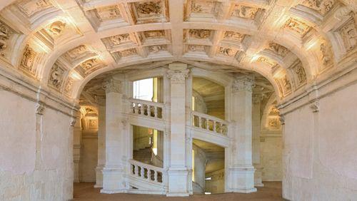 Les escaliers Chambord de la Maison de la Radio, vestiges d'une époque