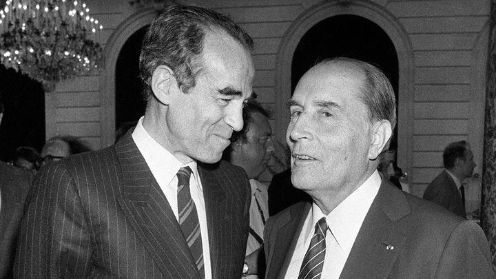 """Robert Badinter 14/15 : """"Mitterrand était une sorte de Picasso de la politique"""""""
