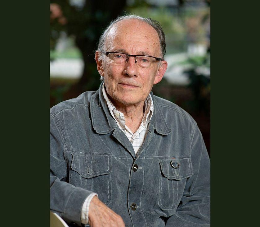 Claude Aubert, pionnier de l'agriculture biologique en France.