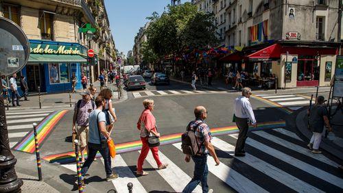 Géographie des quartiers gays et lesbiens