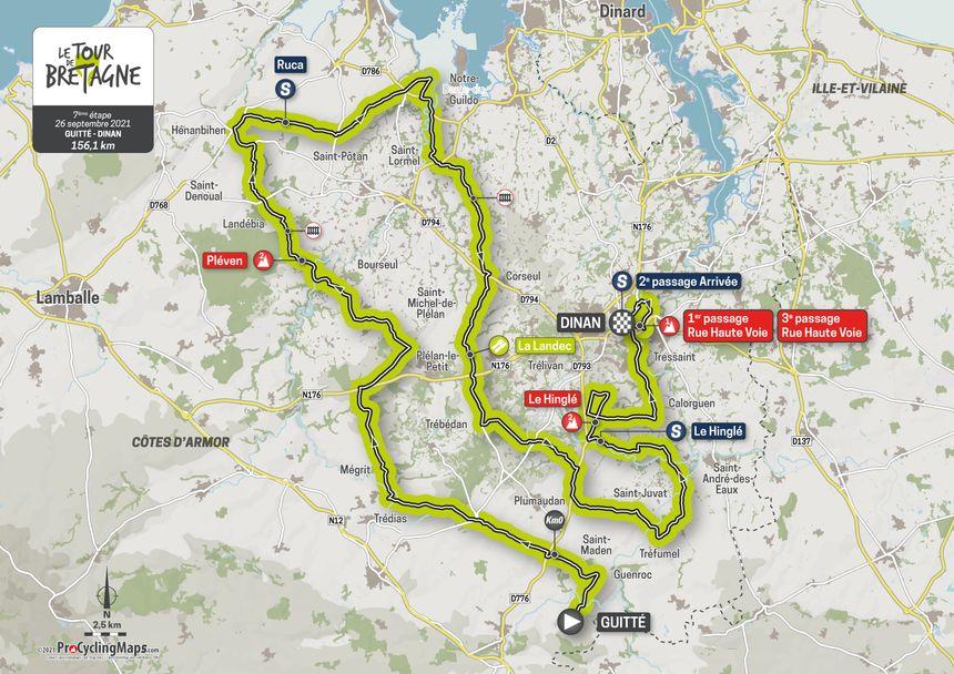 L'étape 7 du Tour de Bretagne.