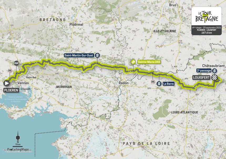 L'étape 4 du Tour de Bretagne.