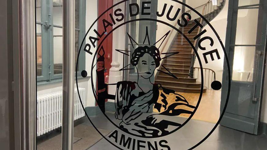 Un des couloirs du palais de justice d'Amiens
