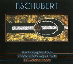 Impromptu pour piano en Sol bémol Maj op 90 n°3 D 899 - JEAN CLAUDE VANDEN EYNDEN