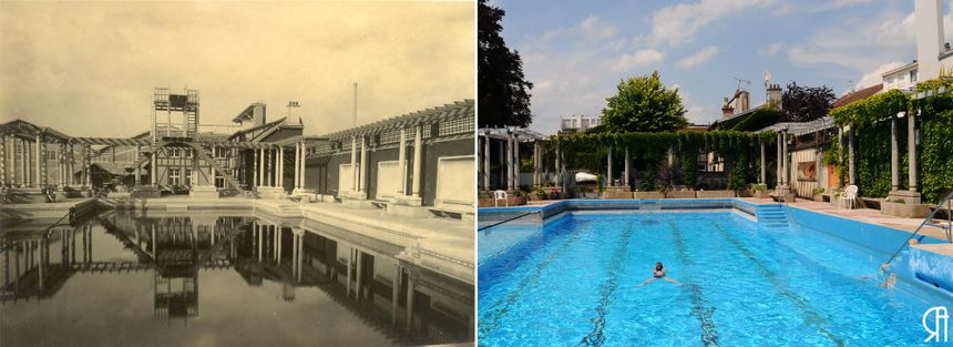 Name for sponsorship to preserve the Artwork Deco pool on the Tennis Membership de Reims