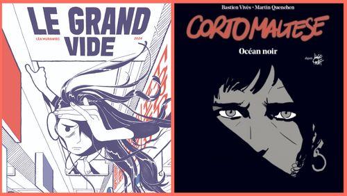 💬  BD : « Corto Maltèse - Océan noir » et « Le Grand vide » de Léa Murawiec