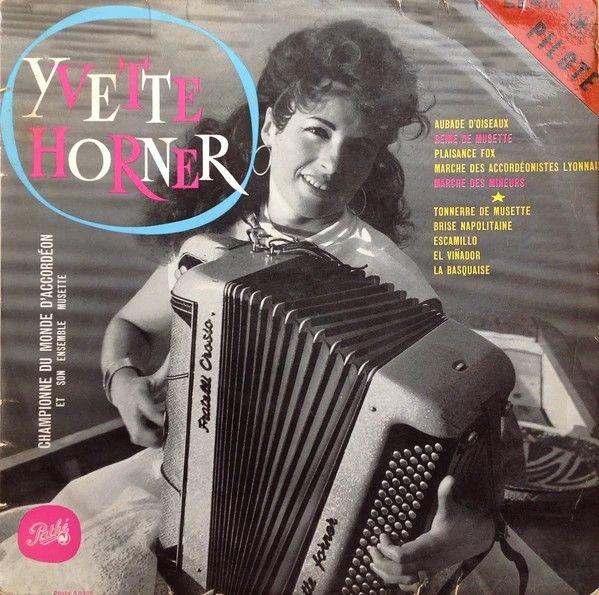 Pochette d'un album d'Yvette Horner