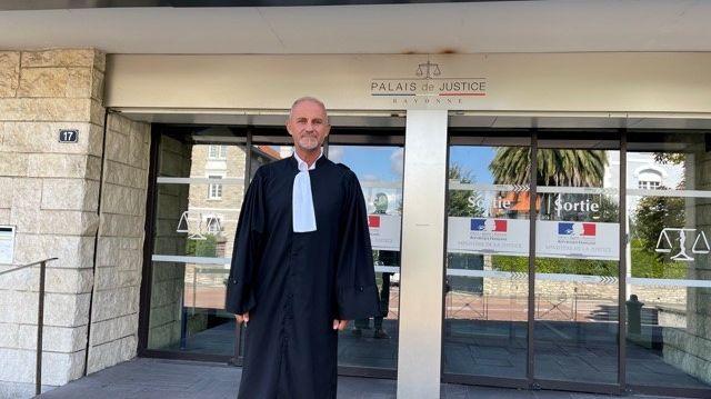 Me Bertrand Franck Macera a plaide l'état de nécessité devant le tribunal de Bayonne