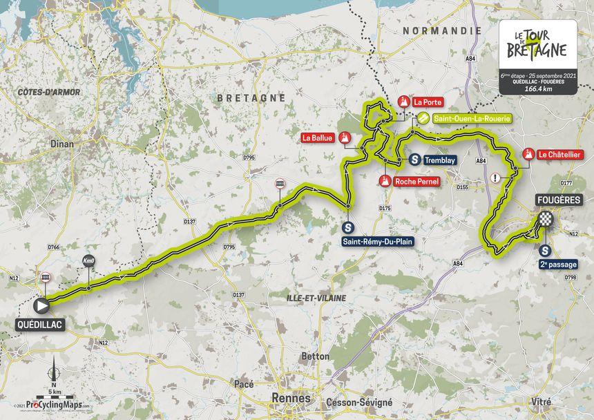 L'étape 6 du Tour de Bretagne.