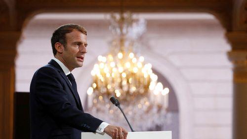 Emmanuel Macron et la campagne qui ne dit pas son nom