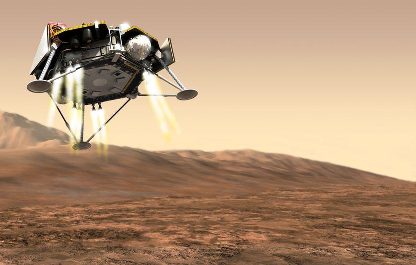 Mars : à cœur ouvert