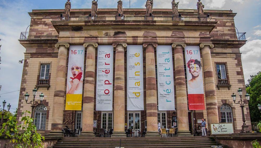 Ouverture de saison à l'Opéra National Du Rhin à Strasbourg