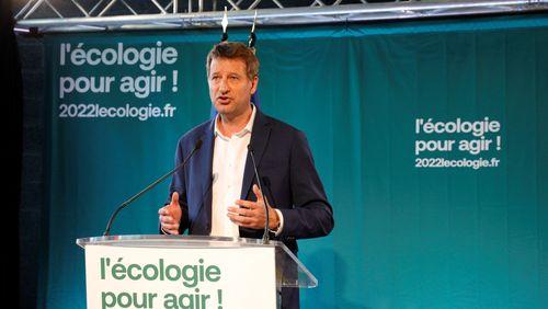 Yannick Jadot candidat écologiste à l'élection présidentielle