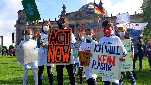 Greta Thunberg à Berlin pour mobiliser sur le climat