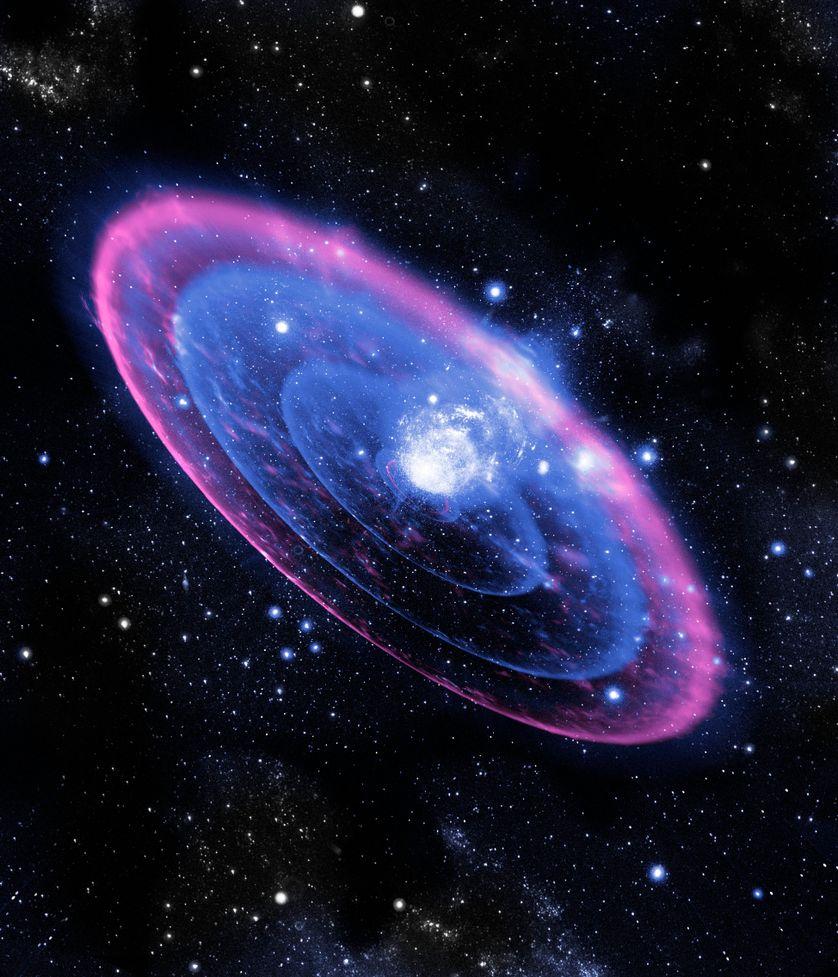 La détection d'une supernova d'un nouveau type