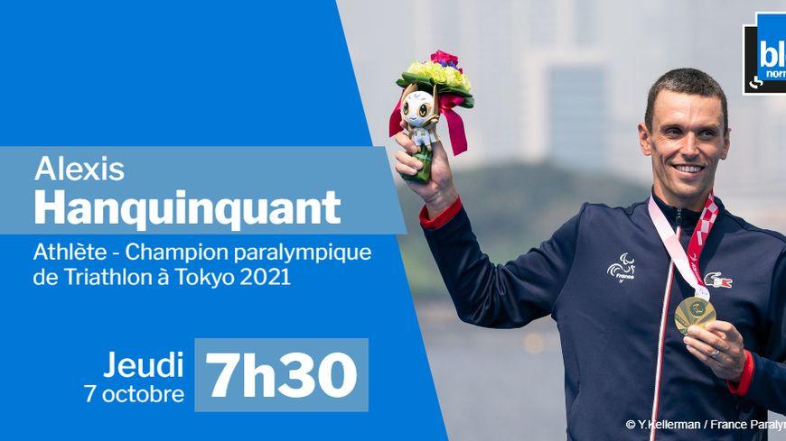 Le champion paralympique Alexis Hanquinquant invité exceptionnel de France Bleu Normandie