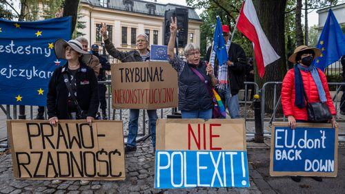Bruxelles  - Varsovie : l'escalade