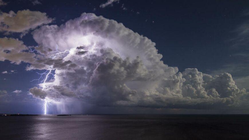 PHOTO - Le cliché d'un chasseur d'orages héraultais élu meilleure photo météo du monde
