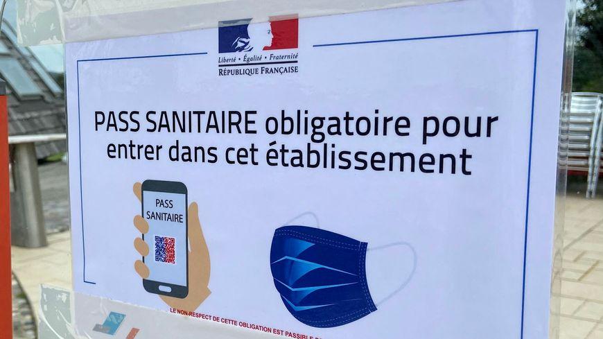 Image illustration pass sanitaire