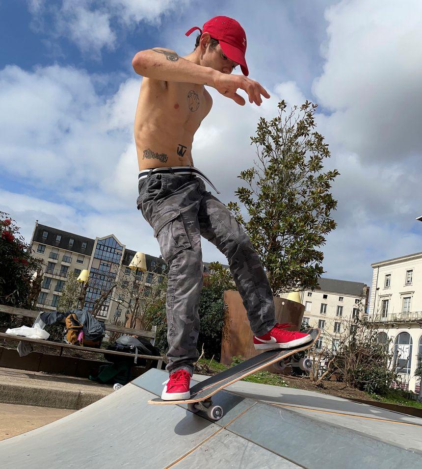 Antoine Faure, a true skate enthusiast