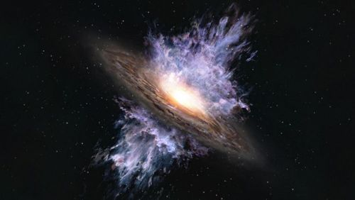 Vive le vent galactique !