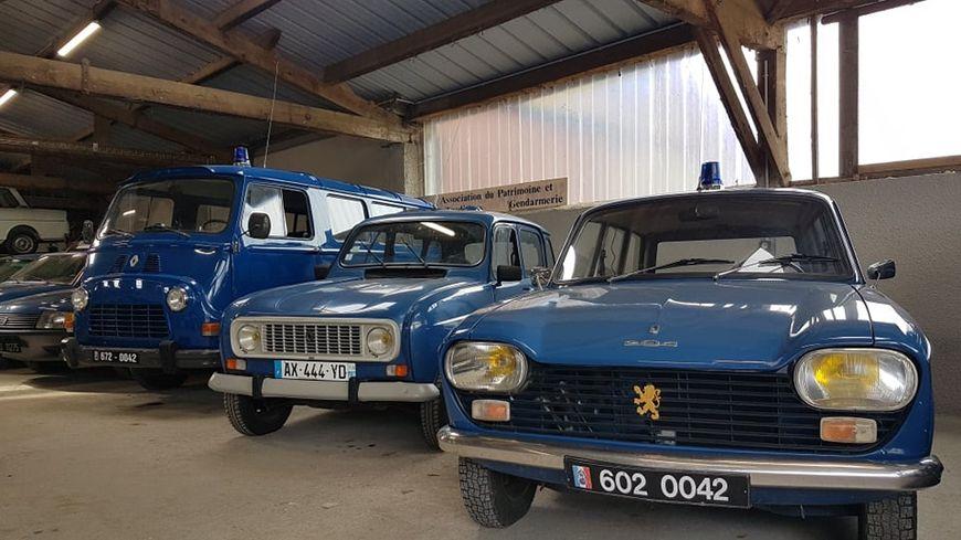 Xavier Hory est l'heureux propriétaire de dix véhicules de gendarmerie des années 60.
