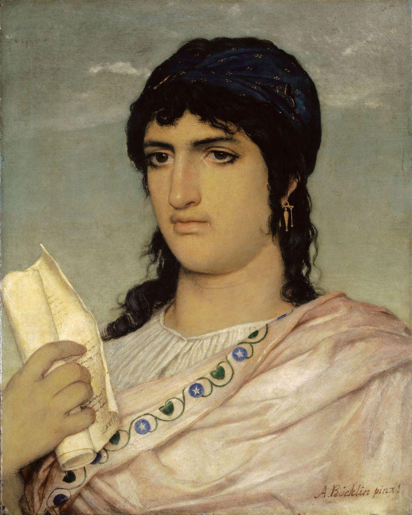 Sappho, poète et musicienne