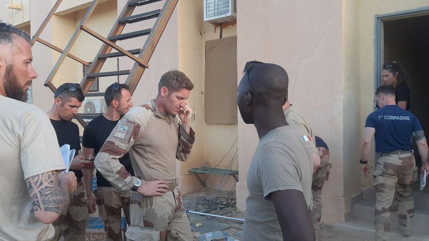 Au Mali, les derniers soldats français de Tessalit